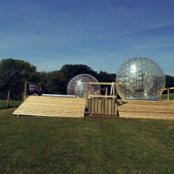 Zorbing United Kingdom
