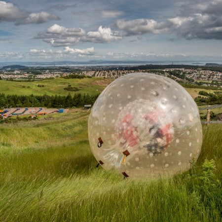 Zorbing Edinburgh, City of Edinburgh
