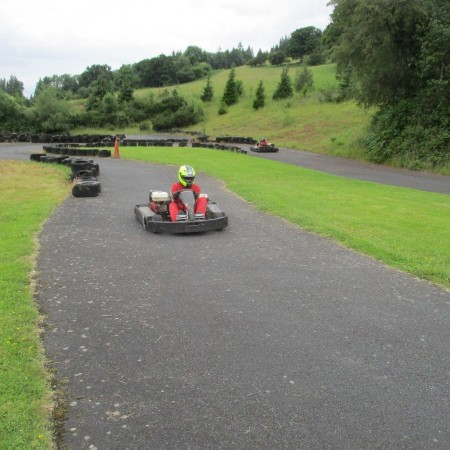 Karting Kentchurch, Herefordshire, Herefordshire