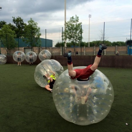 Bubble Football Newquay, Cornwall