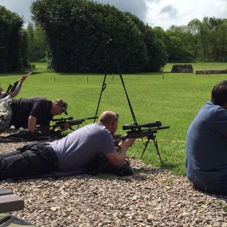Air Rifle Ranges Yeaveley, Derbyshire, Derbyshire