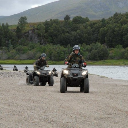 Quad Biking Newtonmore, Inverness-shire, Highland