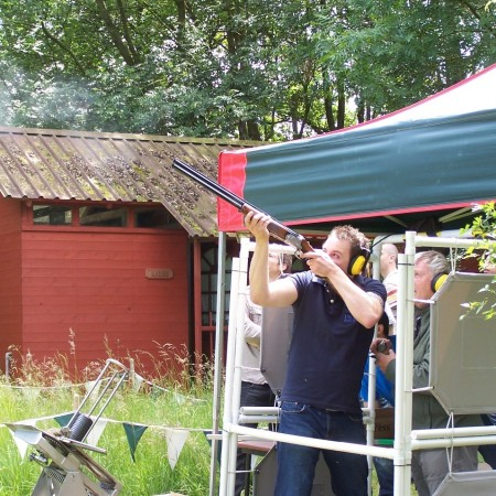 Clay Pigeon Shooting Hanbury, Worcestershire, Worcestershire