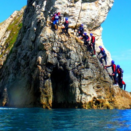 Coasteering Swanage, Dorset, Dorset